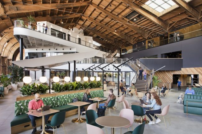 Le Stadia Games and Entertainment Studio à Playa Vista (Los Angeles) © Google