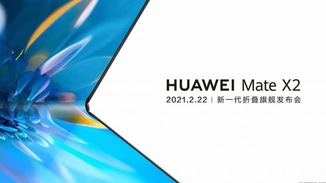 Huawei Mate X2 lancement