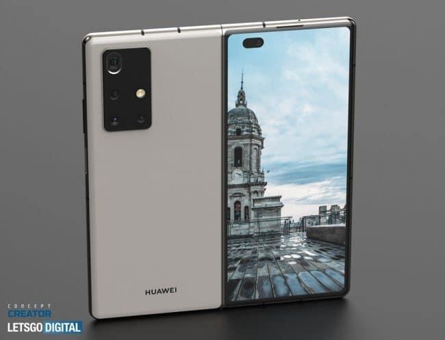Huawei Mate X2 rendu