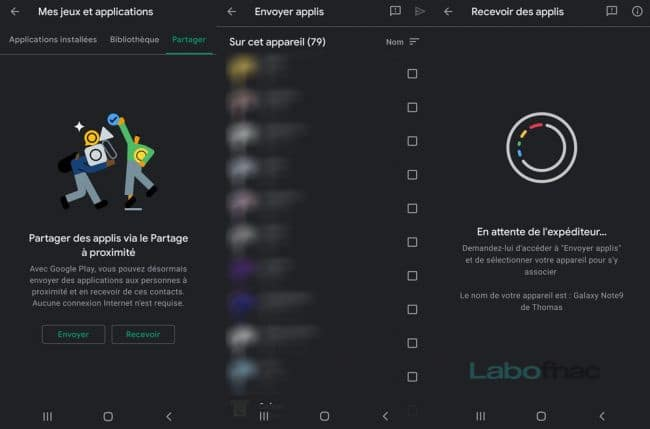 Nearby Share Google Android