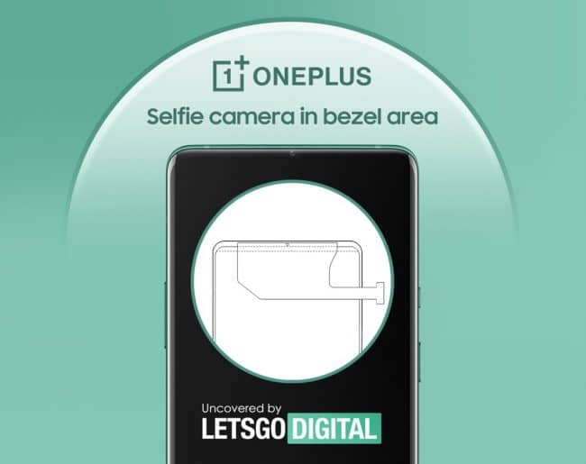 OnePlus caméra bordure