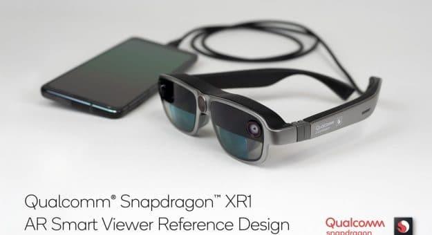 Qualcomm lunettes AR Snapdragon XR1