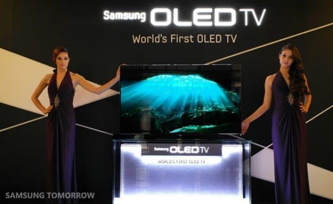 Samsung avait dévoilé un téléviseur OLED en 2012 © Samsung
