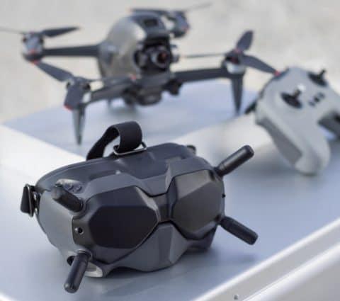 Avec son nouveau drone FPV System, DJI veut démocratiser la navigation FPV