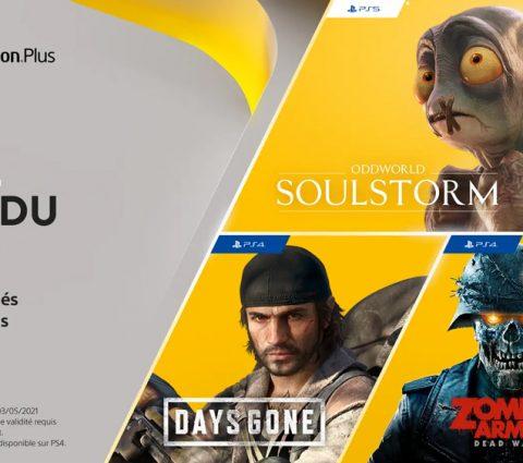 PlayStation Plus : quels sont les jeux gratuits pour PS4 et PS5 en avril 2021 ?