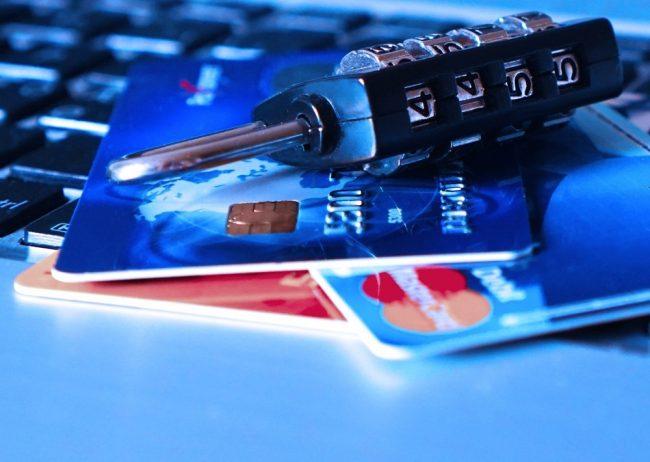 Carte bancaire et mot de passe