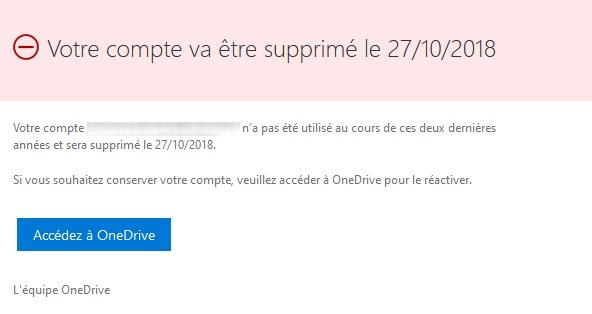 OneDrive suppression