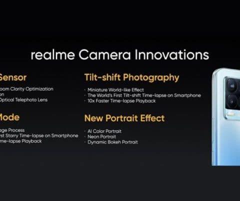 Realme détaille le fonctionnement du capteur 108 Mpx du Realme 8 Pro