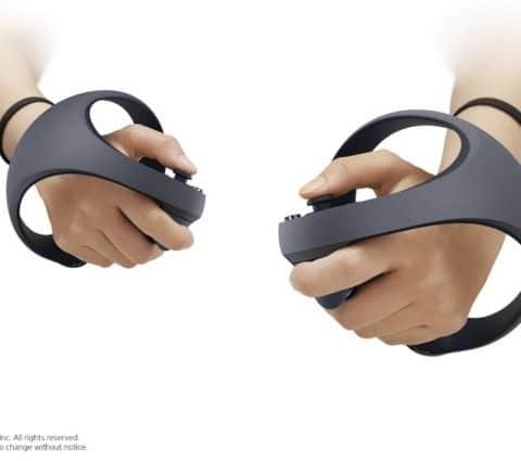 PSVR pour la PlayStation 5 : sa future manette dévoile son design original
