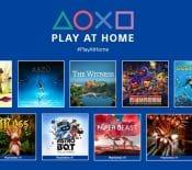 Play at Home : voici les dix jeux que Sony va offrir à partir du 26 mars