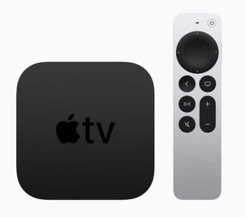Apple TV 4K 2021 : plus de puissance et l'iPhone pour calibrer les couleurs des images