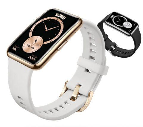 Huawei Band 6, Watch Fit Elegant : design et petits prix pour les nouveaux bracelets connectés