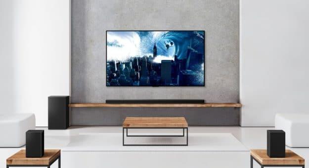 LG dévoile cinq nouvelles barres de son, avec Dolby Atmos, DTS:X et fonctions connectées