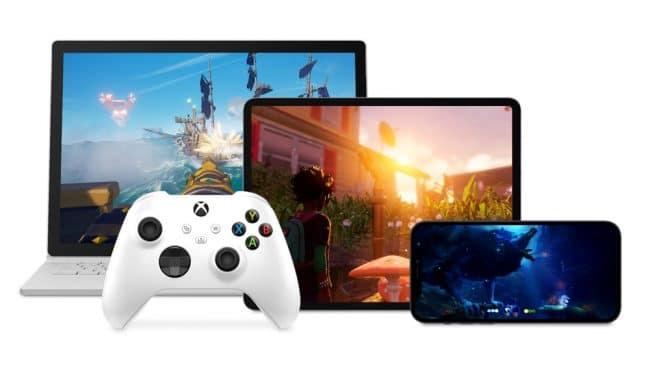 Xbox Cloud Gaming iPhone iPad Surface