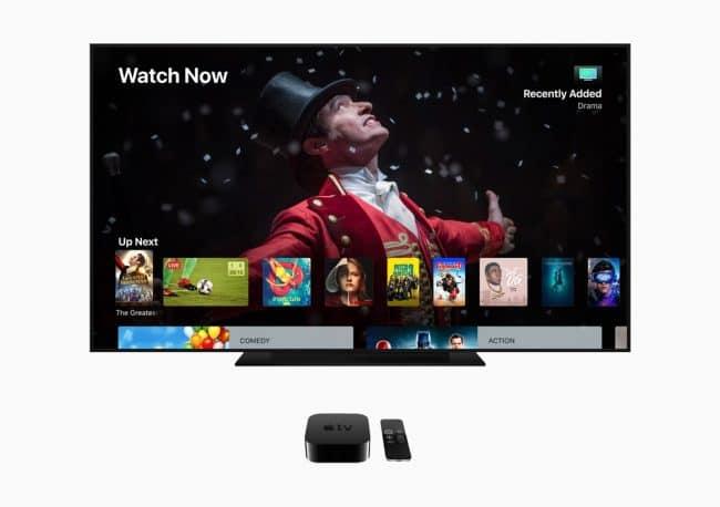 L'Apple TV 4K a été présenté en septembre 2017 © Apple