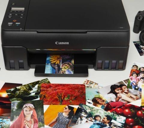 Canon Pixma G650 et G550 : des imprimantes MegaTank taillées pour la photo