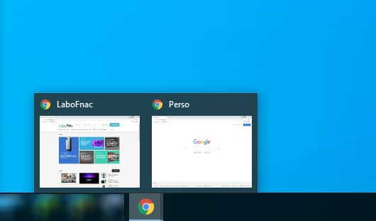Google Chrome nommer fenêtre