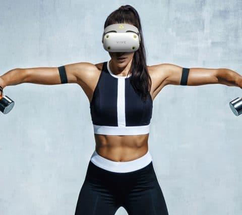 HTC Vive Air : le concept de casque VR pour les sportifs fuite sur la toile