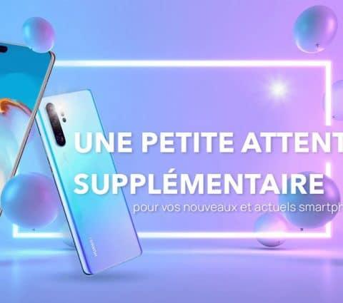 Huawei offre des extensions de garanties et des mois gratuits d'accès à ses services