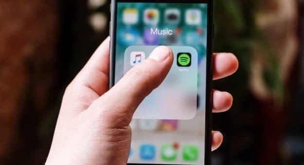Musique Spotify Apple