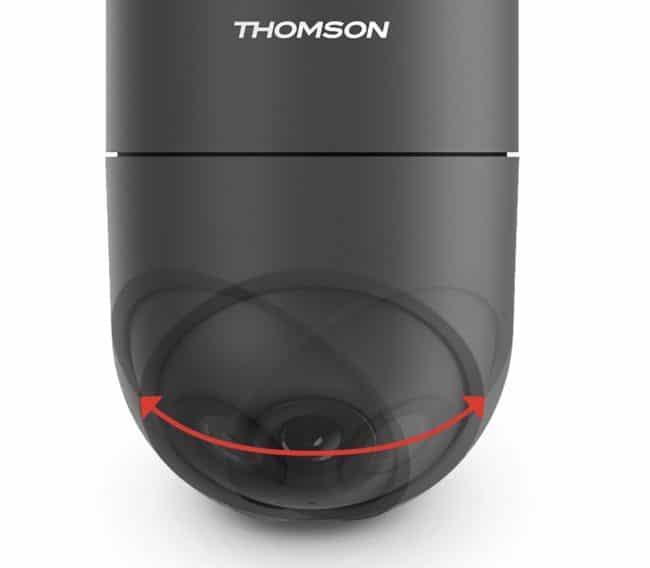 La tête rotative et motorisée de la Rheita 100 © Thompson