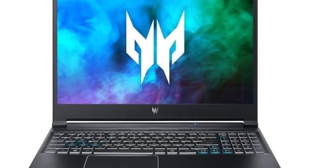Aceréquipe ses PC portables gaming Nitro 5, Triton 300 et Helios 300 des processeursTiger Lake-H