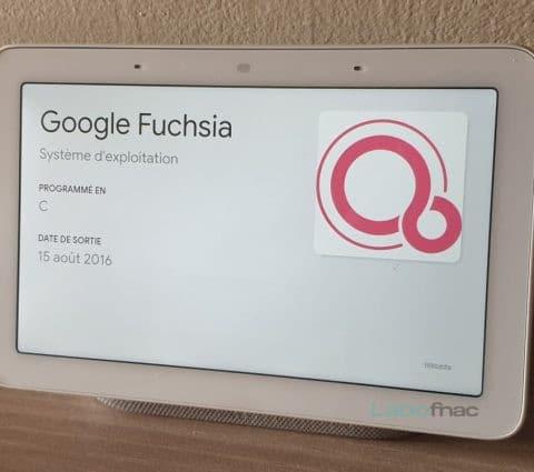 Google: FuchsiaOS arrive entoute discrétion surNestHub