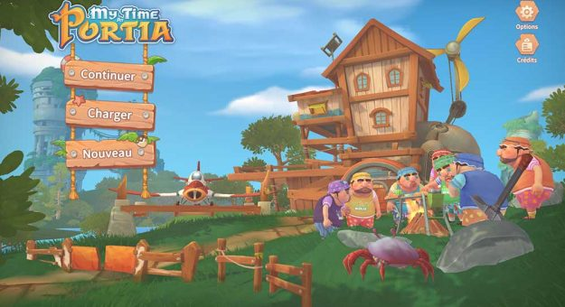 My Time at Portia iOS / Android