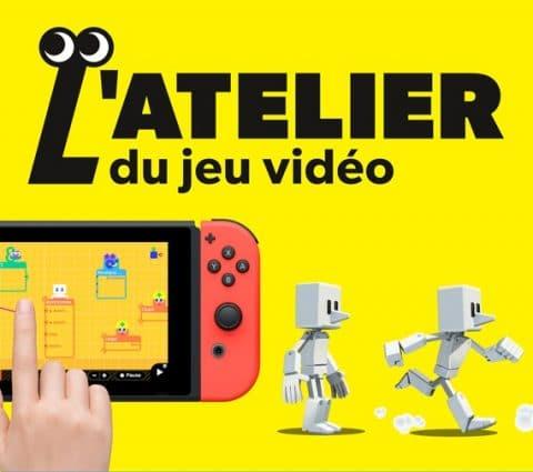Nintendo veut vous apprendre à créer des jeux avec L'atelier du jeu vidéo