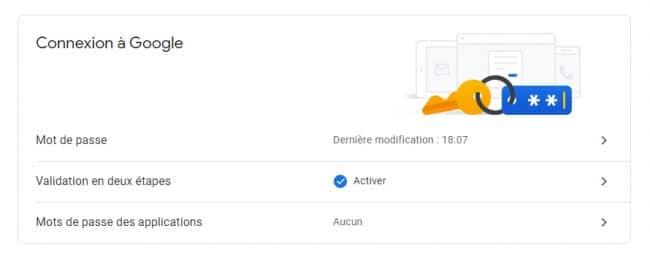 Google sécurité