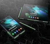 GalaxyZFold Tab: unrendu3D dévoile latablette pliable deSamsung