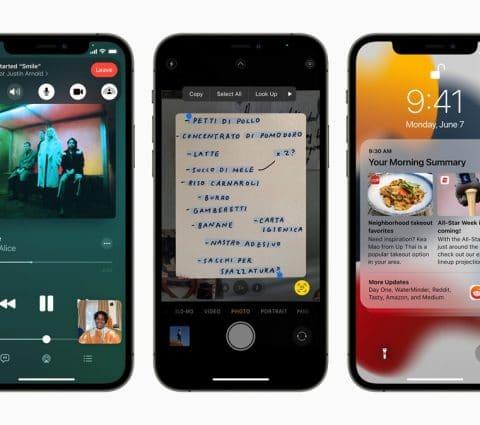 iOS 15 : Apple peaufine son système d'exploitation vedette