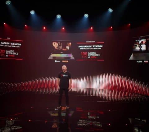 Computex2021 – AMD dévoile sesRadeon RX6000M pourPCportables