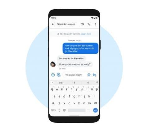 Android apporte lechiffrement deboutenbout dansGoogle Messages