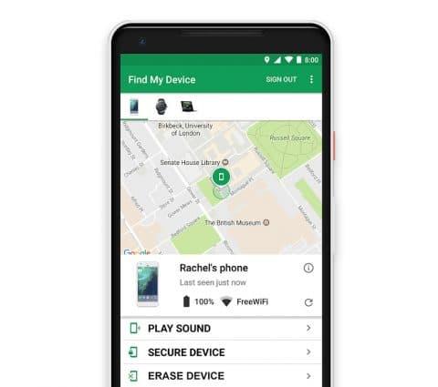 Google pourrait s'inspirer d'Apple pourlocaliser lessmartphones Android