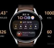 Watch3: Huawei lance sapremière montre connectée sousHarmonyOS