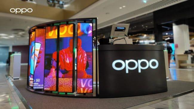 Oppo logo magasin