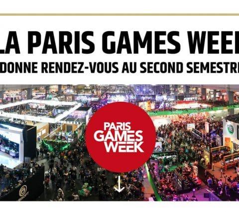 La Paris Games Week unenouvelle fois annulée àcause duCovid-19