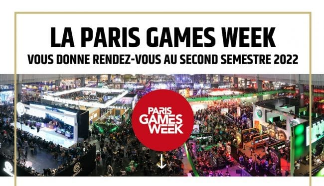 © Paris Games Week