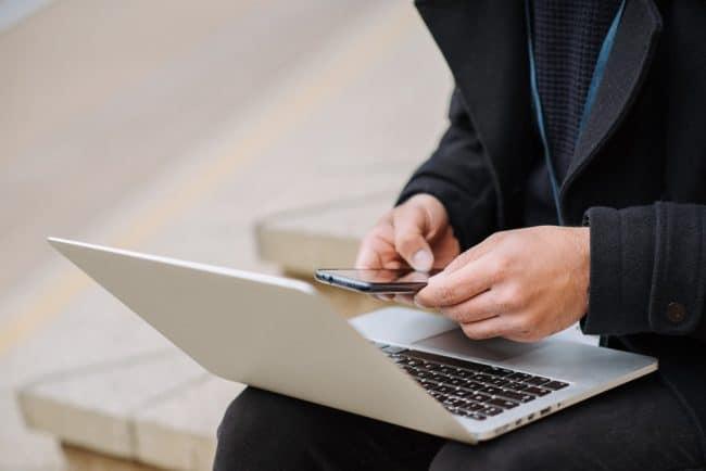 Smartphone et PC