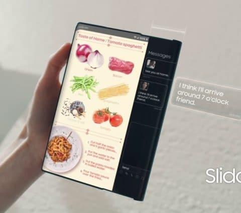 Samsung songe àunsmartphone àécran enroulable