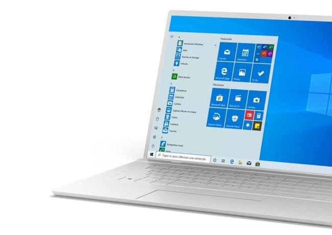 PC sous Windows 10
