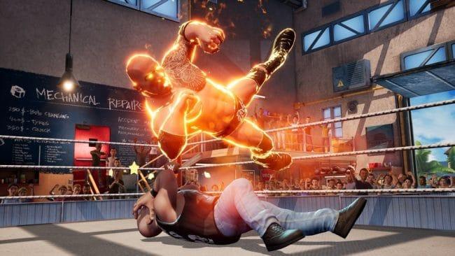 WWE2K Battlegrounds © Sony