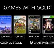 Xbox Games with Gold de juillet 2021
