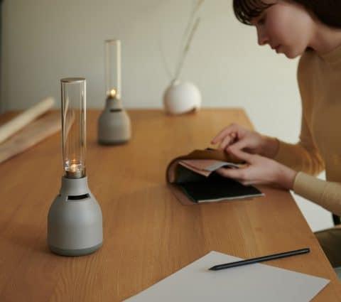 LSPX-S3: Sony renouvelle sonenceinte lumineuse enverre etsansfil