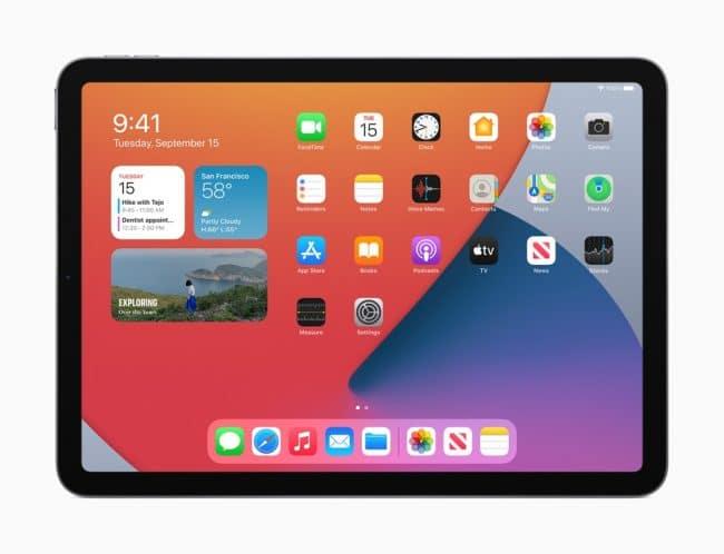 L'iPad mini6 adopterait le design del'iPad Air4 © Apple
