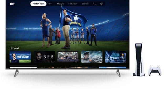 Apple TV+ et Playstation 5