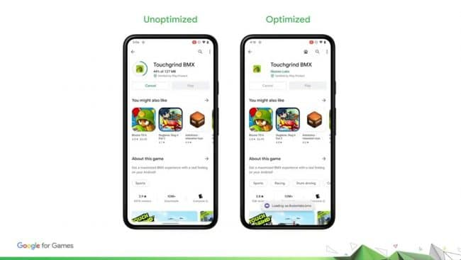 Google Play as you download Android 12
