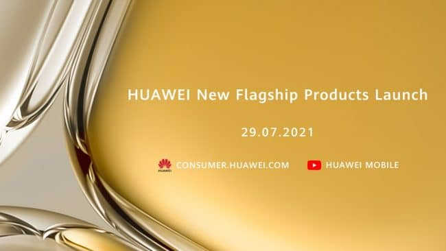 Date conférence Huawei P50
