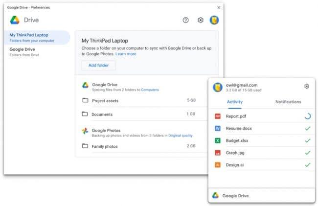Google Drive PC & Mac